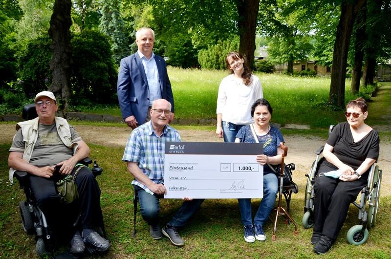 VITAL erhält erfal-Stiftungspreis 2021