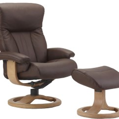 Swedish Leather Recliner Chairs Outdoor Hanging Lounge Chair Fjords Scandic Ergonomic 43 Ottoman