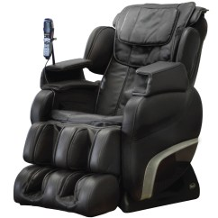 Recliner Massage Chair White Leather Chairs Dining Titan Ti 7700r