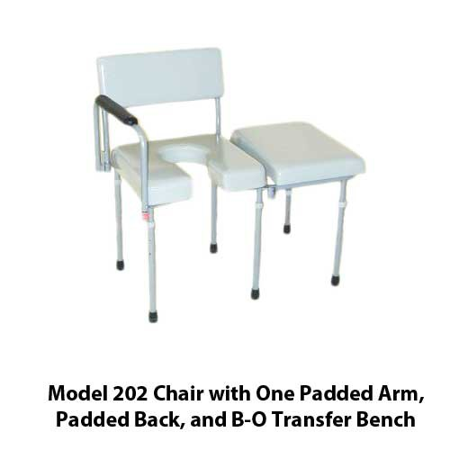 Activeaid 202 Max Aid Bathroom Assist Chair Commode
