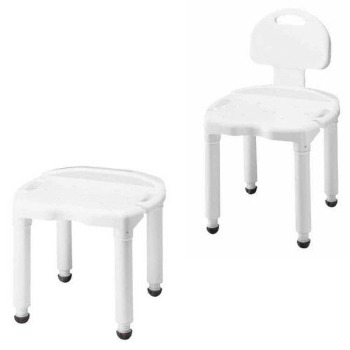 carex shower chair recliner covers ikea universal bath seat with adjustable height all stool legs