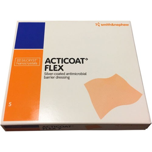 Acticoat Flex 3  7 Day Wound Dressings by Smith  Nephew