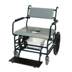 Heavy Duty Commode Chair Chrome Dining Chairs Nz Activeaid 720 Bariatric Shower - Wheelchair | Vitality Medical