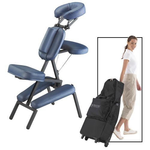 massage chair portable walmart high chairs for babies master professional w wheel bag 46449 with