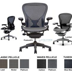 Ergonomic Chair No Wheels Banquet Hall Covers Herman Miller Aeron Home Office - Seating By Miller.