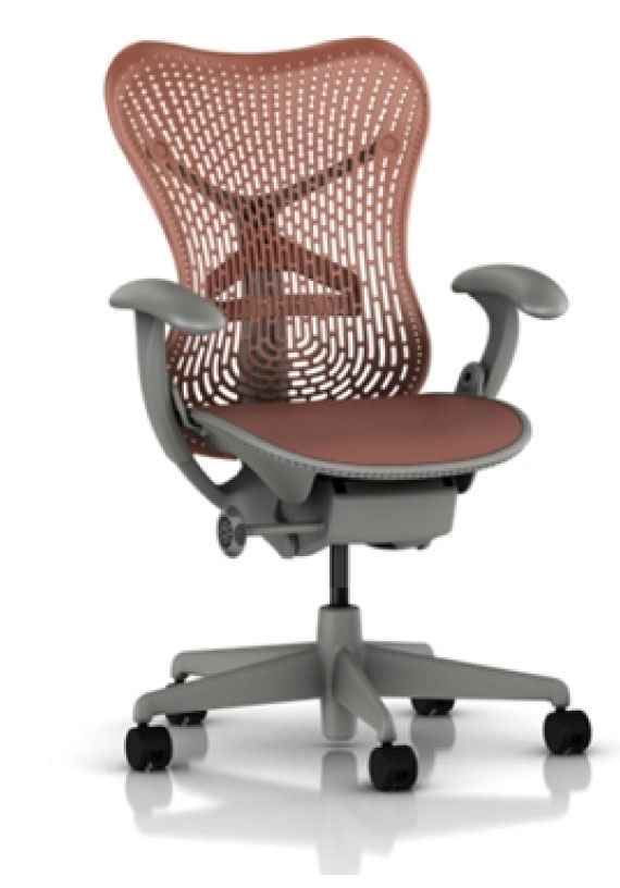aeron chair herman miller manual nail salon mirra - ergonomic seating by miller.