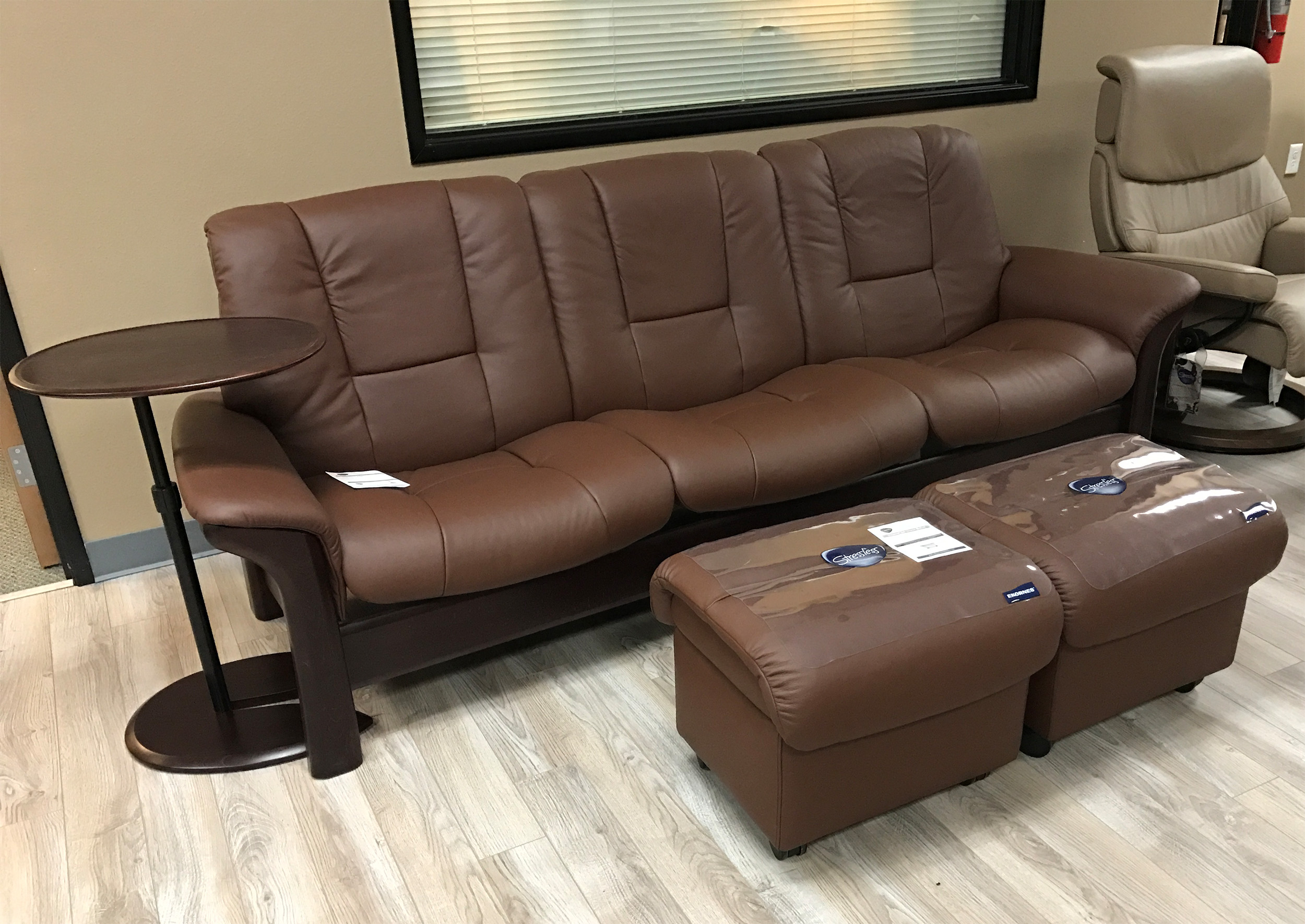 ergonomic chair and ottoman modern brown leather desk ekornes stressless medium soft ottoman, large ottomans tables - double ...