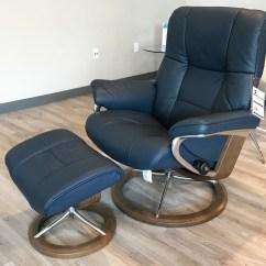 Blue Recliner Chair Desk Ikea Canada Stressless Mayfair Signature Walnut Wood Paloma Oxford