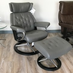 Recliner Chair Covers Grey Baby Trend Sit Right High Stressless Skyline Signature Base Paloma Metal