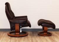 Stressless Voyager Premium Royalin Amarone Leather ...