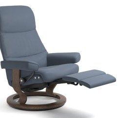 Custom Sofa San Diego England Larson Ekornes Stressless View Medium Leather Recliner And ...