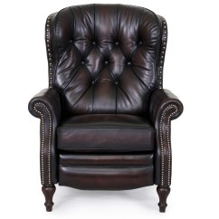 Lounge Chair Leather Commander Barber Barcalounger Kendall Ii Recliner