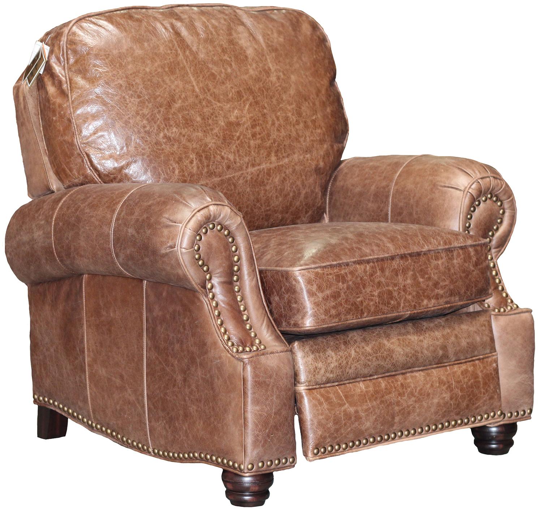 baseball desk chair swivel lounge chairs new barcalounger longhorn ii shoreham chocolate leather