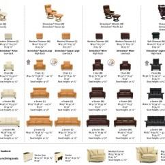Ergonomic Chair Dimensions Buy Ekornes Stressless Recliner And Sofa Sizes