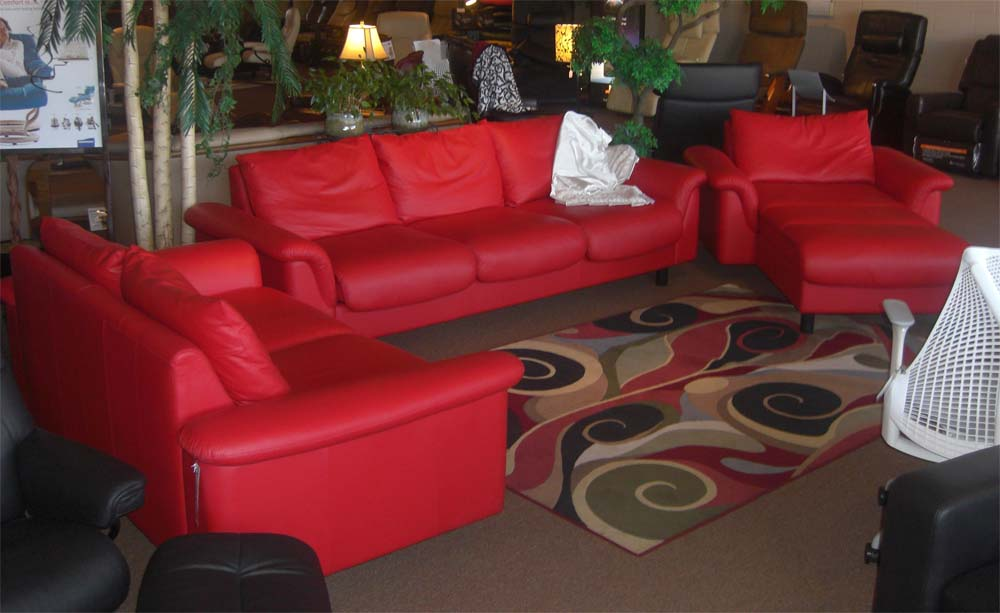 stressless eldorado sofa red leather sofas gumtree manchester e300 ergonomic couch with separate ...