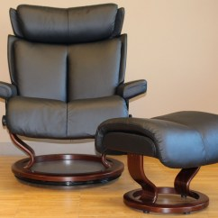 Stressless Chair Sizes Toddler High Magic Paloma Black Leather By Ekornes