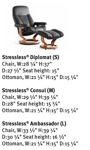 Ekornes Stressless Consul Chair Consul Diplomat