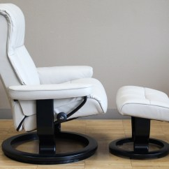 Ekornes Chair Accessories Lowe S Canada Outdoor Lounge Chairs Stressless Crown Cori Vanilla White Leather Recliner