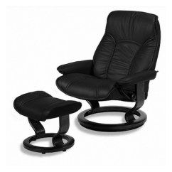 Swing Chair Grey How Do You Cane A Ekornes Stressless Large Governor Ergonomic Recliner Lounger And Matching Ottoman ...