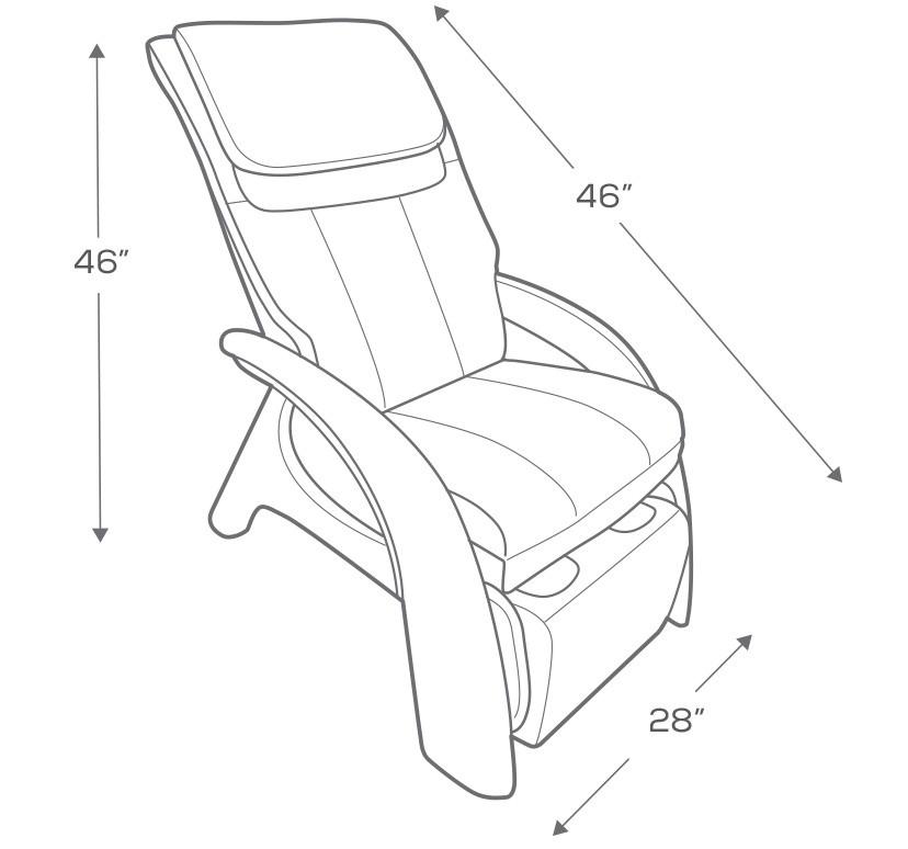 Human Touch ZeroG Volito Zero Gravity Massage Chair Recliner