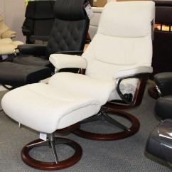 Light Grey Chair Childrens Bouncy Stressless View Signature Base Medium Paloma By Ekornes - ...