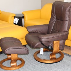 Kensington Leather Chair Plastic Straps For Patio Chairs Stressless Large Mayfair Paloma Chocolate