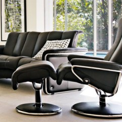 Ergonomic Chair And Ottoman Mima High Australia Ekornes Stressless Blues Recliner Lounger - Recliners, ...
