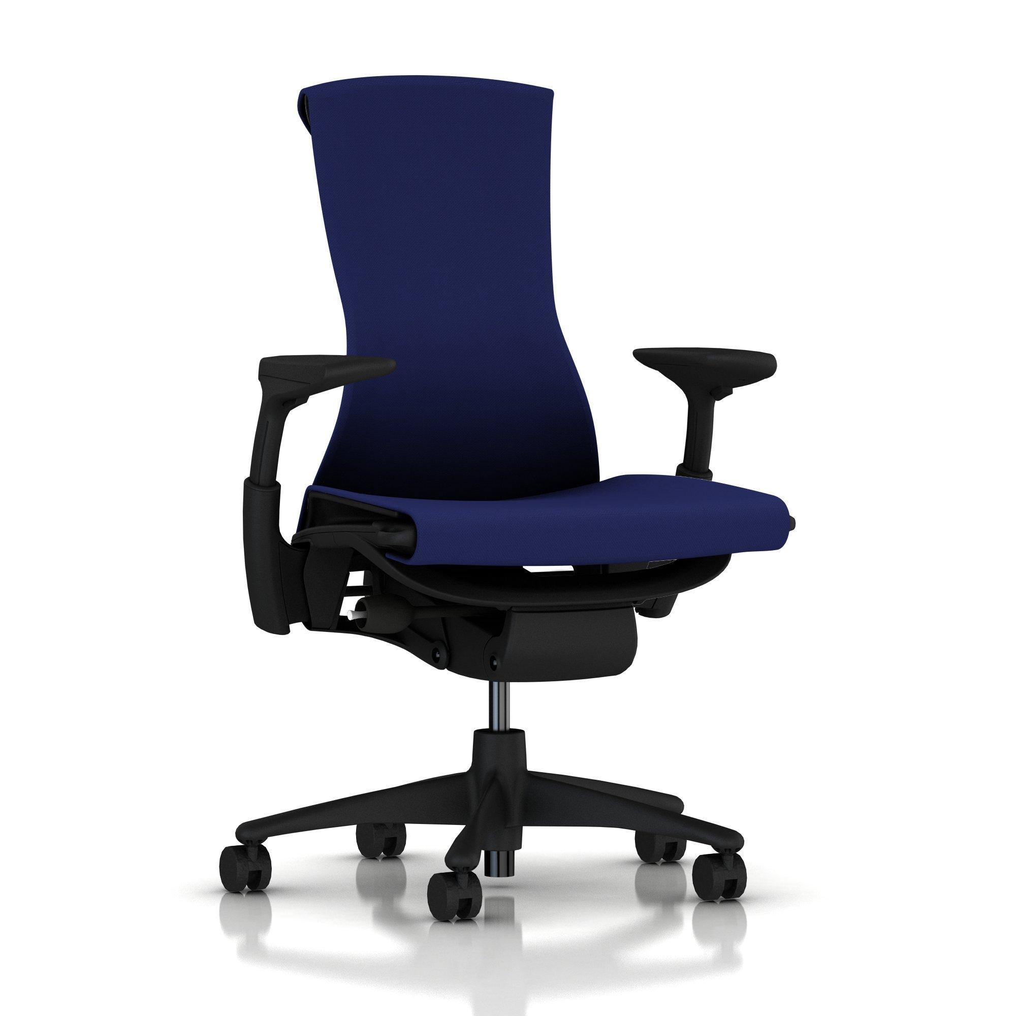 Herman Miller Embody Chair Twilight Blue Rhythm with