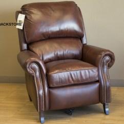 Desk Chair Recliner Egg Shaped Swing Barcalounger Churchill Ii Leather