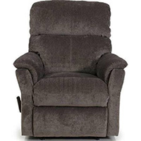 wall hugger recliner chair canada summit trophy review barcalounger cross ii proximity lay flat - leather ...