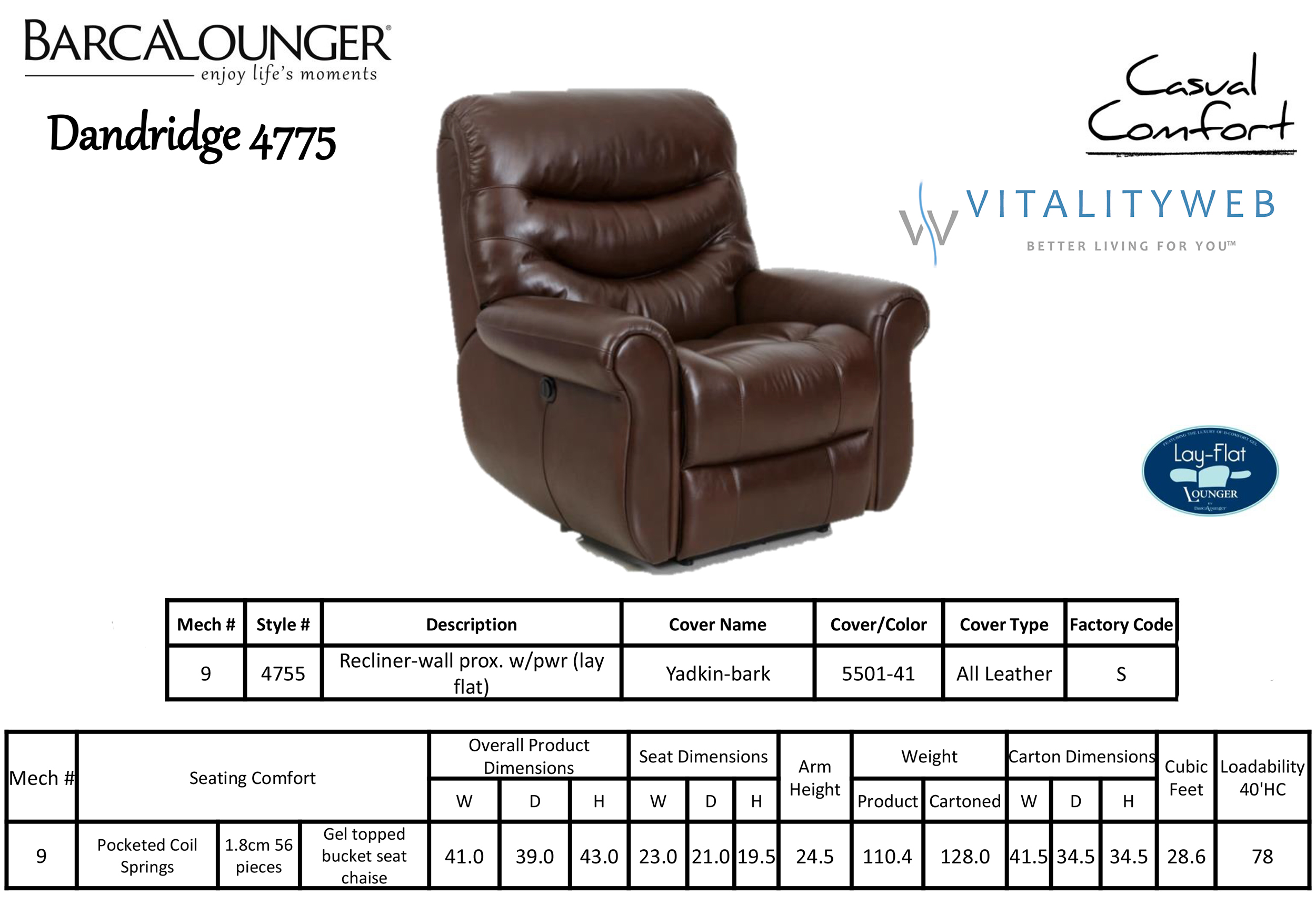 average height of a sofa seat under 500 00 barcalounger dandridge ii lay flat wall away hugger