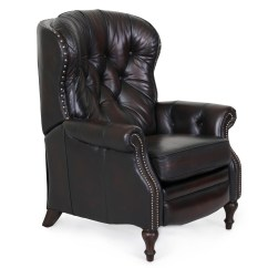 Leather Chair Pads Purple Living Room Chairs Barcalounger Kendall Ii Recliner - Furniture Lounge ...