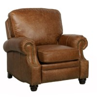 Barcalounger Longhorn II Leather Recliner Chair - Leather ...