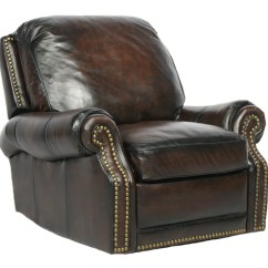 Wall Hugger Recliner Chair Pedicure Massage For Sale Barcalounger Premier Ii Leather - Furniture Lounge ...