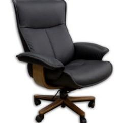Ergonomic Chair Norway Folding Back Fjords Senator Soho Executive Leather Office Scandinavian Desk