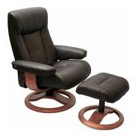 Scandinavian ScanSit 110 Havana Leather Modern Ergonomic ...