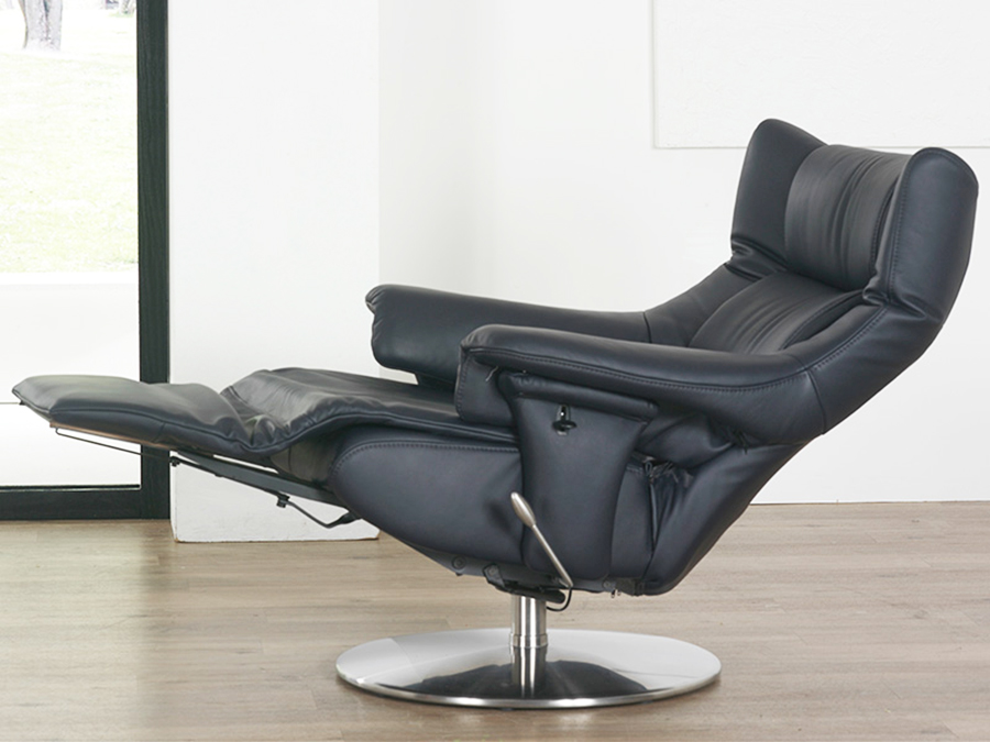 Himolla Opus ZeroStress Integrated Recliner Leather Chair