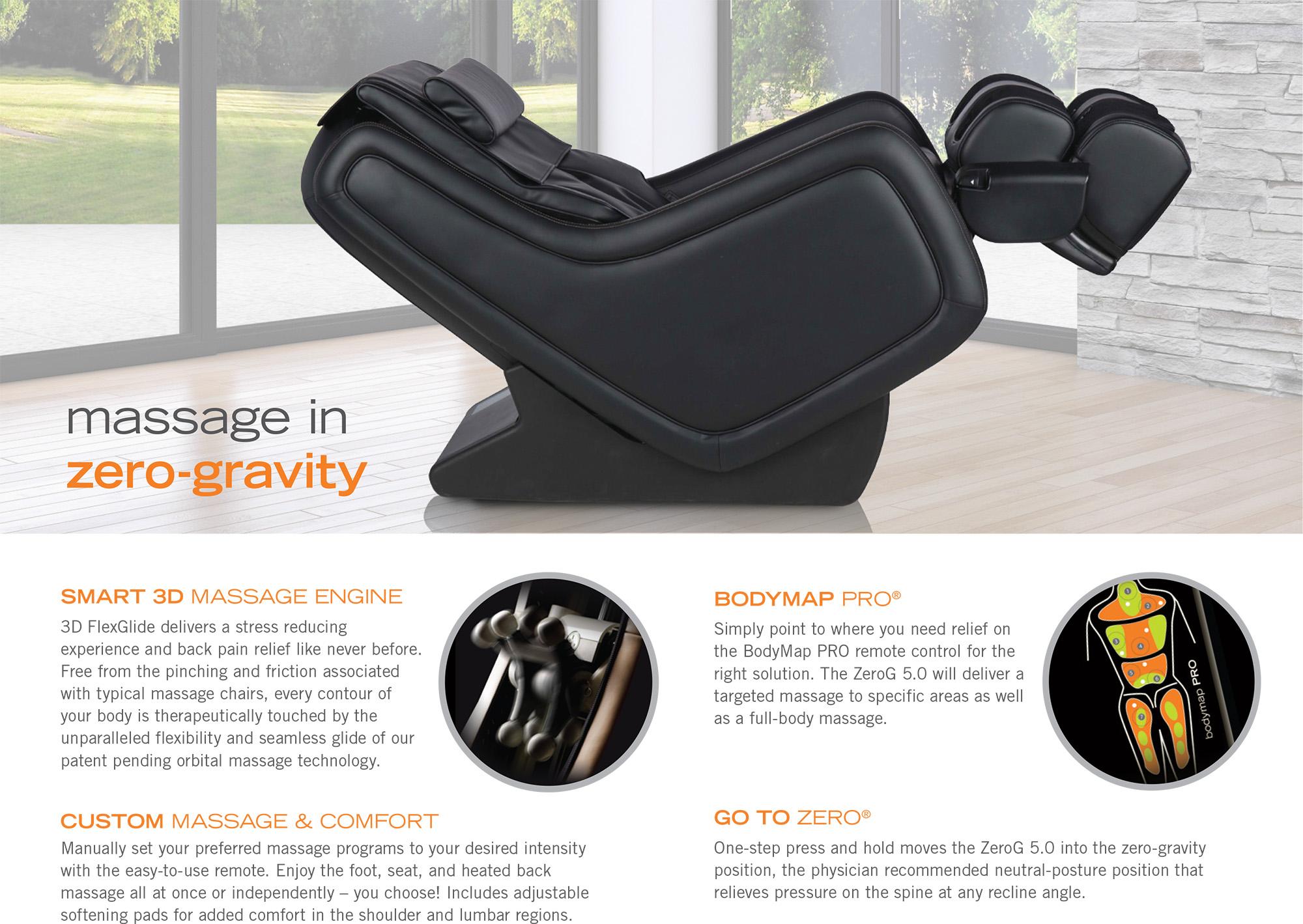 neutral posture chair parts orange wicker human touch zerog 5 massage zero gravity recliner