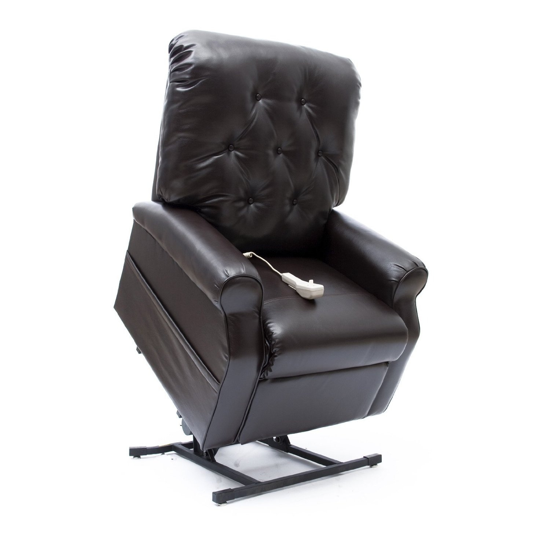 motorized easy chair wedding alternatives new chestnut vinyl comfort fc 201 power electric lift