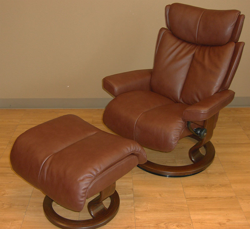 Stressless Royalin Brown Leather by Ekornes  Stressless