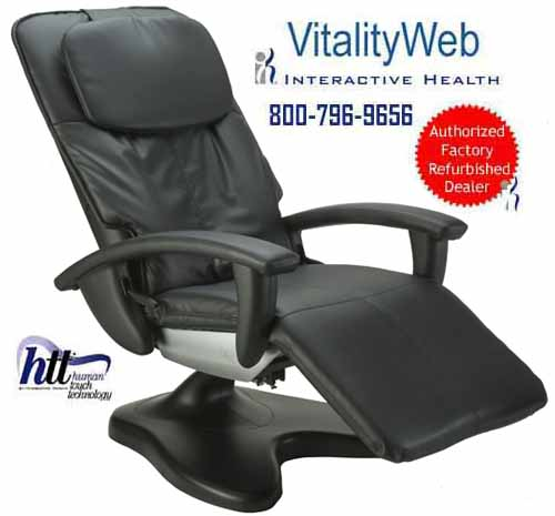 htt massage chair stretch covers amazon human touch ht 100 125 095 recliner