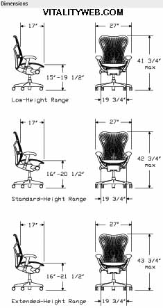ergonomic chair data rustic metal kitchen chairs herman miller mirra - seating by miller.