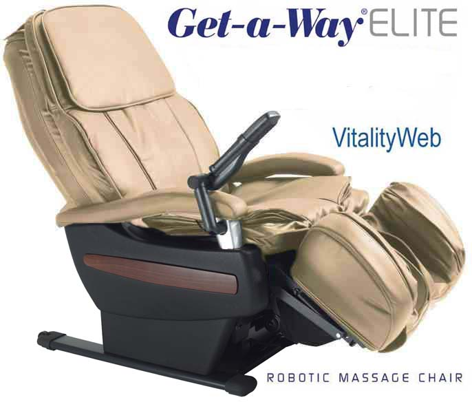 GETAWAY RMS10 Elite Robotic Home Massage Chair by