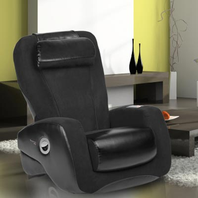 iJoy 2400 Black Human Touch Robotic Massage Chair Recliner