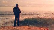 fishing sea nature man