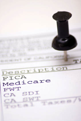 2019-10 paystub with Medicare deductions