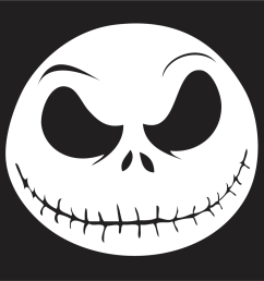 nightmare before christmas window stickers any size any colour [ 1024 x 1025 Pixel ]