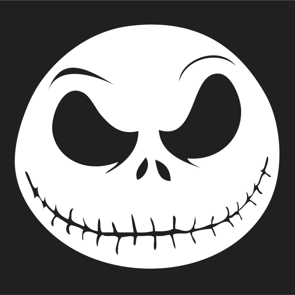 medium resolution of nightmare before christmas window stickers any size any colour