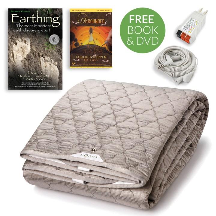earthing sheets, earthing sleep pad, earthing bed