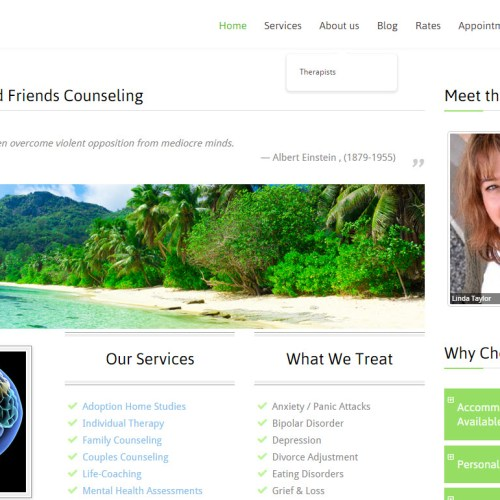 Website Design Complete – www.GoodFriendsCounseling.com